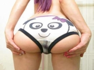 cute panties - Pantie Thigh Gap